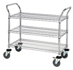 3 Shelf Wire Cart