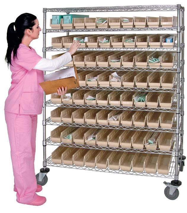 catheter cart