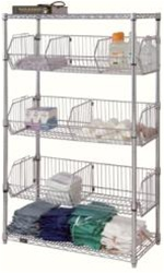 Wire Basket Unit, dividers sold separately