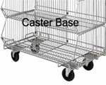 Stacking Basket Mobile Caster Base Only