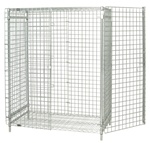 Wire Security Door Kit only, no shelving, no side or back panels