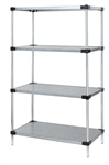 Quantum Galvanized Solid Shelf Starter Unit