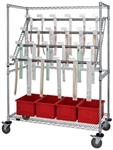 Catheter Hold & Store Cart