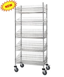 Post Basket Unit, dividers sold separately