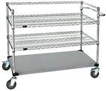 Open Surgical Case Cart